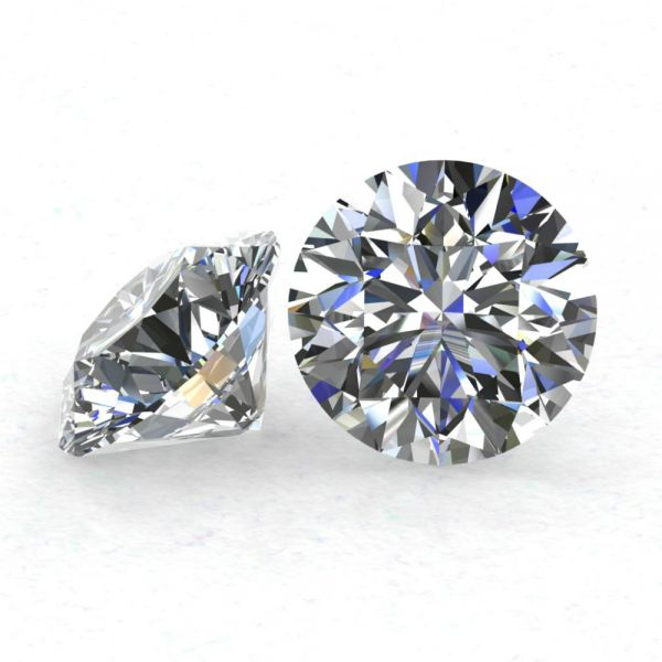 Diamant 0,436 ct., F, VS1, G