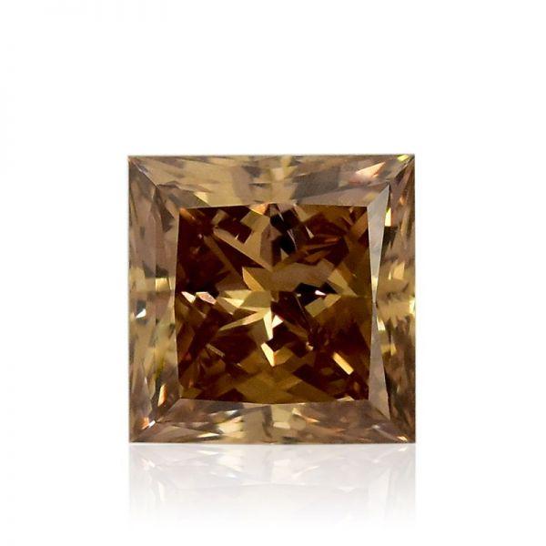 Diamant 0,51 ct., Natural Fancy Deep Brown, IGI Antwerp Belgia