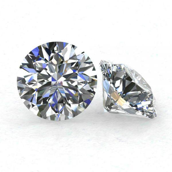 Diamant 1,52 carate, H, P1, certificare HRD Antwerp