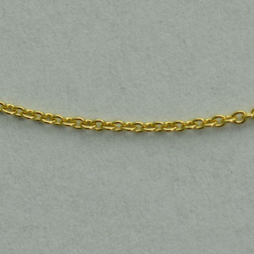Lant din aur galben 18k