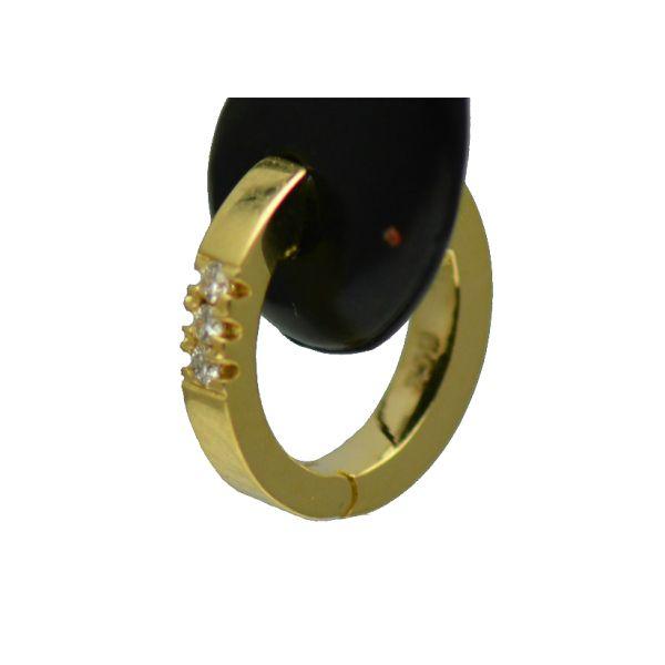 Cercei aur galben 18k cu diamante(bebelusi)